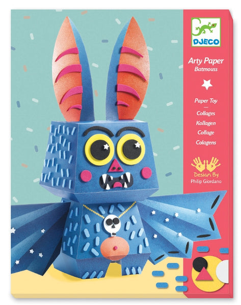 Djeco - Arty Paper Batmouss Craft Kit 2