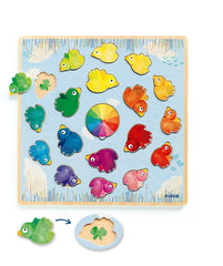Djeco - Colour Matching Bird Puzzle 2