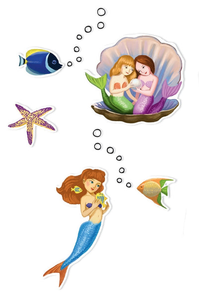 Djeco - Mermaid Stickers