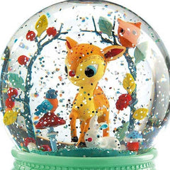 Djeco Fawn Night Light Snow Globe 2