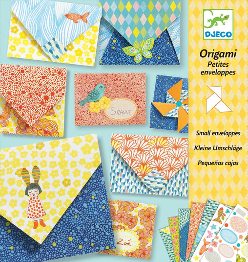 Djeco - Origami Little Envelopes Craft Kit
