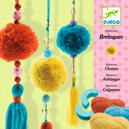 Djeco - Beads Pompoms Wool Craft Packaging
