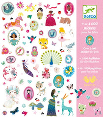 Djeco - 1000 Stickers Just for Girls