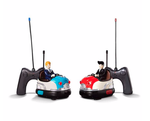 Remote Controlled Bumper Car Set