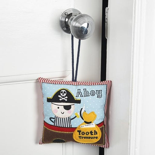 Floss & Rock - Pirate Tooth Fairy Cushion