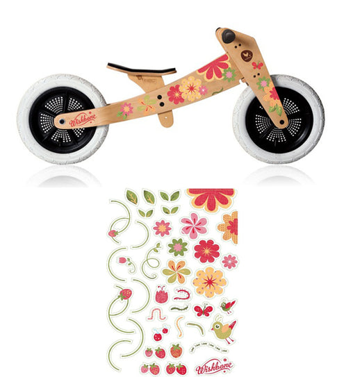 Wishbone Stickers Flowers
