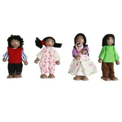 Fun Factory - Wooden Doll Family African