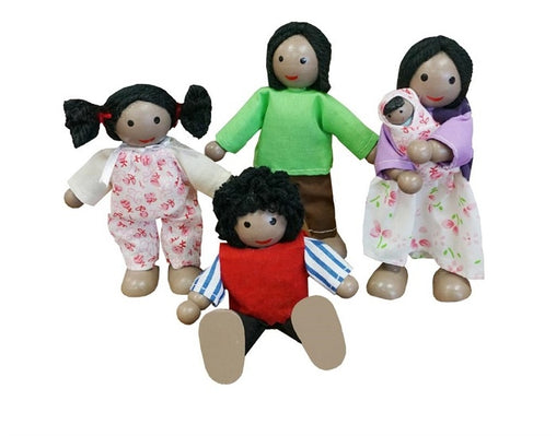 Fun Factory - Wooden Doll Family African 2