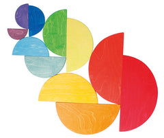 Grimm's - Wooden Rainbow Large Semi Circles