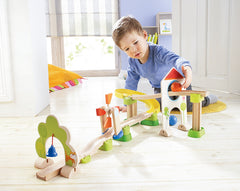 Haba Ball Track Windmill with Boy