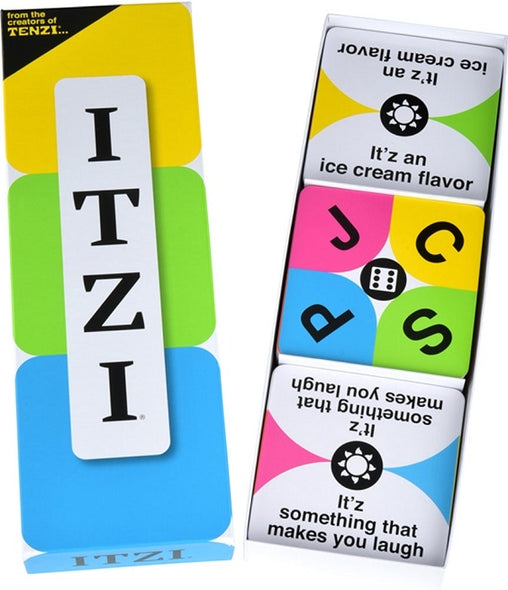 Itzi - A Fast Paced Card Matching Game