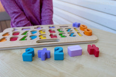 Kiddie Connect - Carry Around Numeracy Puzzle 2