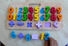 Kiddie Connect - Carry Around Numeracy Puzzle 5