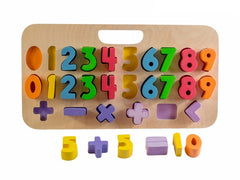 Kiddie Connect - Carry Around Numeracy Puzzle