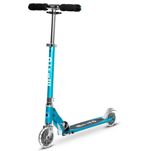 Micro Sprite Micro Scooter Ocean Blue - LED Wheels