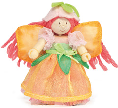 Le Toy Van Budkins Doll Garden Fairy Set Orange
