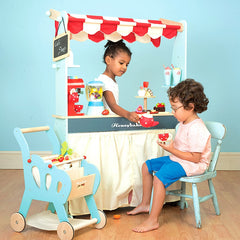 Le Toy Van - Wooden Honeybake 2-in-1 Shop & Cafe 5