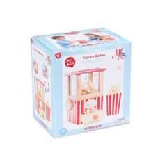 Le Toy Van Honeybake Play Food Popcorn Machine Packaging
