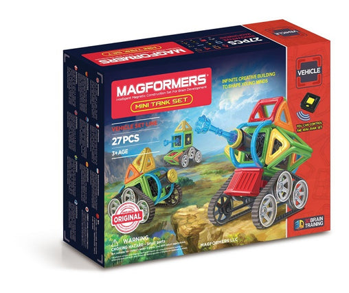 Magformers Magnetic Construction Blocks - Mini Tank Set 27 pieces 5