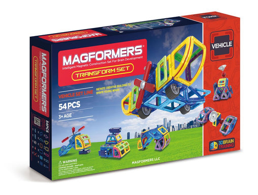 Magformers Magnetic Construction Blocks - Transform Set 54 pieces 4