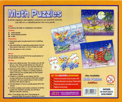 Creatives Math Puzzles Multiplication & Division Back