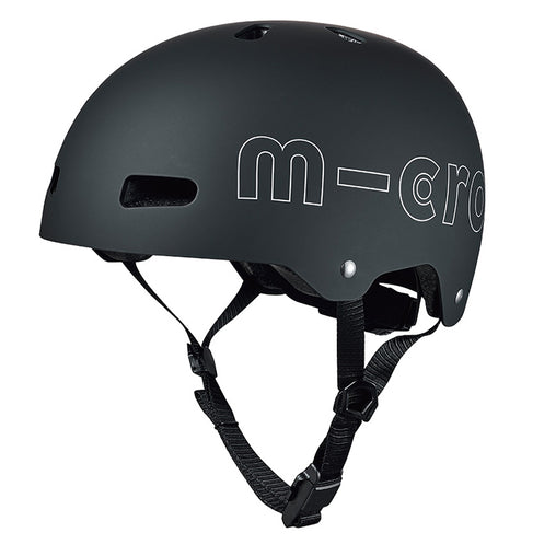 Micro Teens Adults Helmet Black Medium