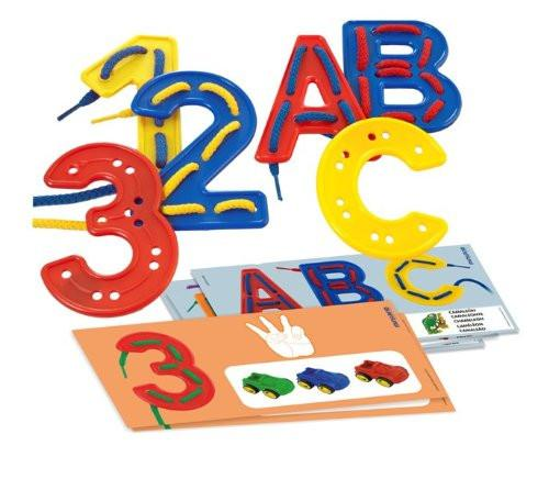 Miniland - Aptitude ABC and 123 Activity Set