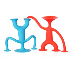 Moluk Oogi Junior Silicone Suction Toy Red and Blue 2