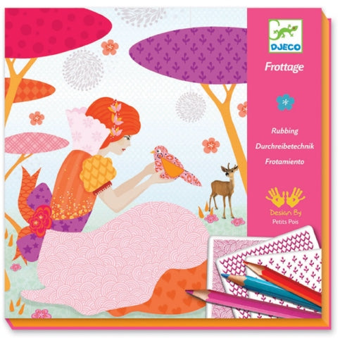 Djeco - My Beautiful Dresses Craft Kit
