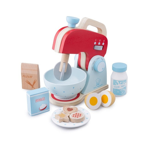 New Classic Toys - Wooden Role Play Baking Mixer Set