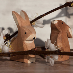 Ostheimer Wooden Sitting Rabbit 2