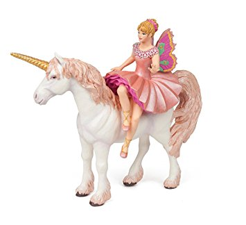 Papo Figurine - Elf Ballerina and her Unicorn 38822