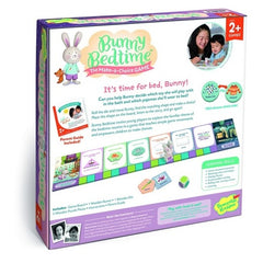 Peaceable Kingdom Bunny Bedtime Make-a-Choice Game 3