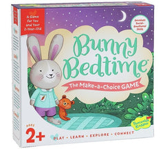 Peaceable Kingdom Bunny Bedtime Make-a-Choice Game