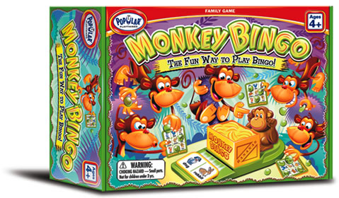 Popular Playthings - Monkey Bingo