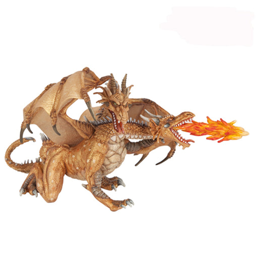 Papo Figurine - Dragon Gold Two Head 38938