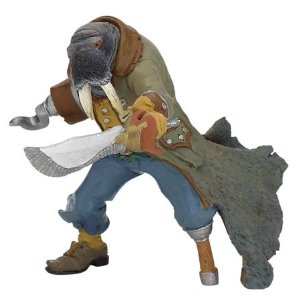 Papo Figurine - Walrus Mutant Pirate 39462