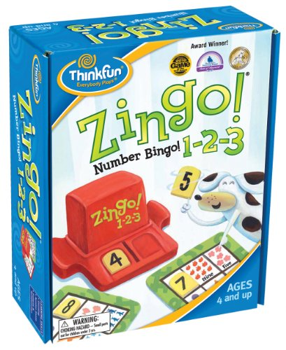 Game Zingo 123 Numbers