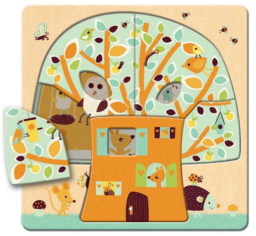 Djeco Tree House Layer Puzzle 2
