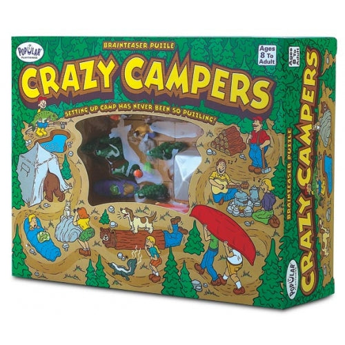 Popular Playthings - Crazy Campers Single Player Logic Game 2