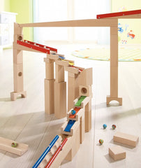 Haba Wooden Building Blocks Melodious with Ball Track