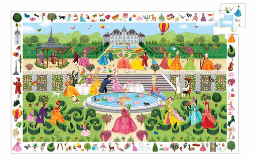Djeco - Discovery Puzzle Garden Party 100 Piece