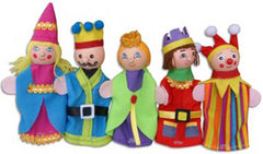 Finger Puppets King & Queen