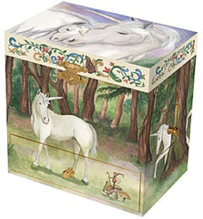Enchantmints Musical Jewellery Treasure Box Unicorn Closed