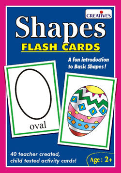 Creatives Flash Cards Shapes