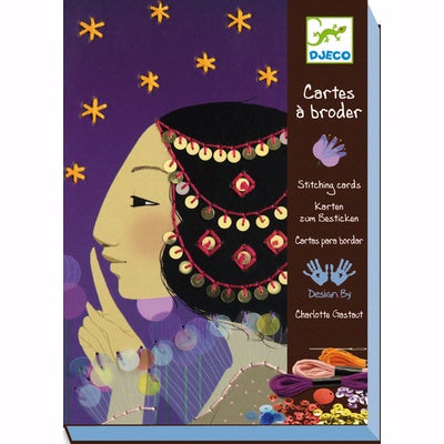Djeco - 1001 Nights Stitch Cards