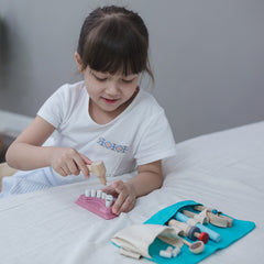 Plan Toys Dentist Set Girl