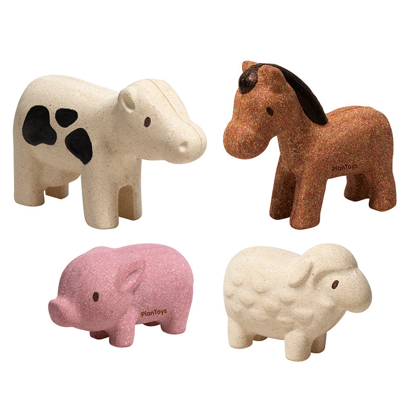 PlanToys Farm Animals Set