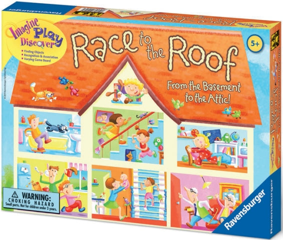 Ravensburger - Game Race to the Roof Boxed