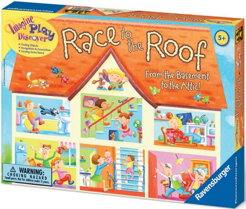 Ravensburger Game Race to the Roof Packaging